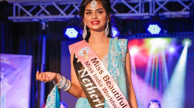 Miss Erisha Ghogli Terug Met Titel Van Miss India Worldwide!