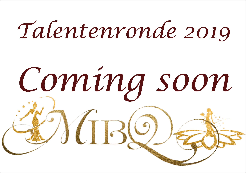 Talentenronde 2019